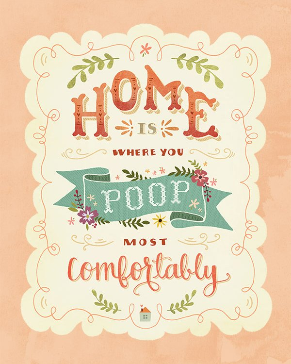 Home Is... Hand-letterring Thumbnail